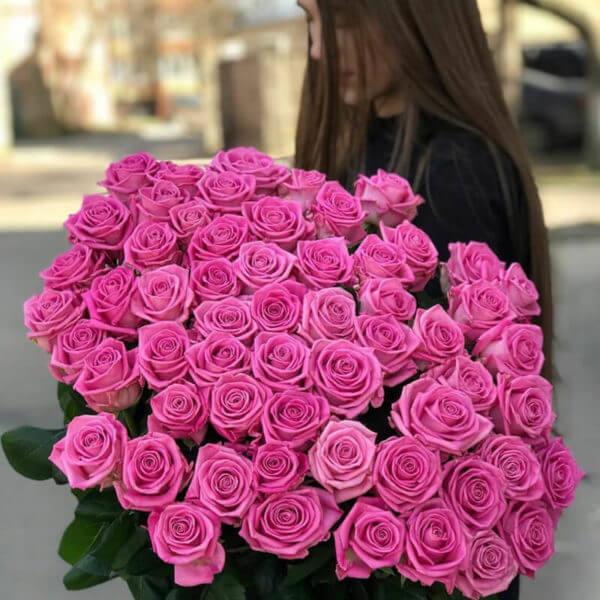 101 роза купить недорого с доставкой