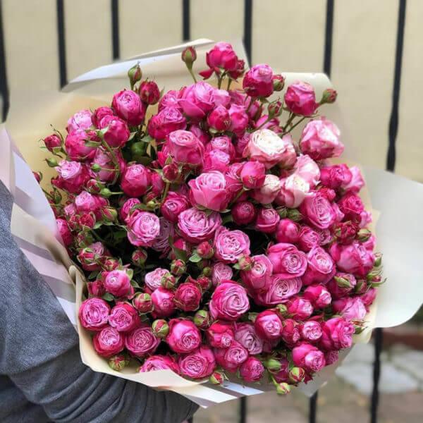 букет из 35 роз цена