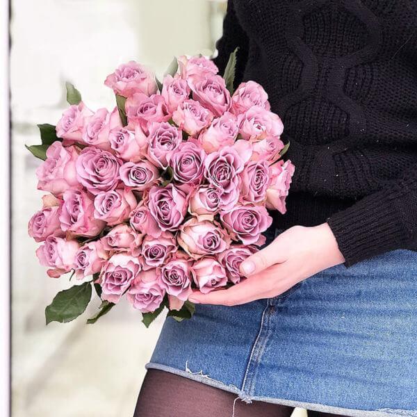 35 роз доставка