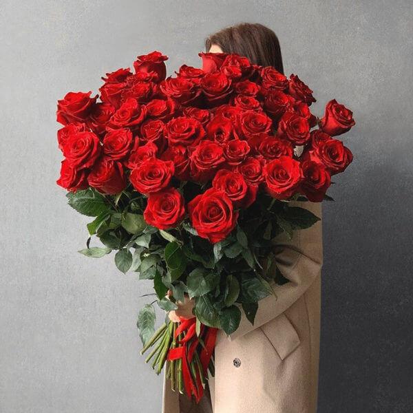 51 роза москва доставка