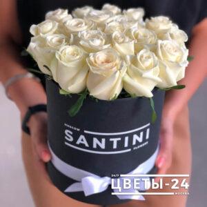 цветы в коробке доставка