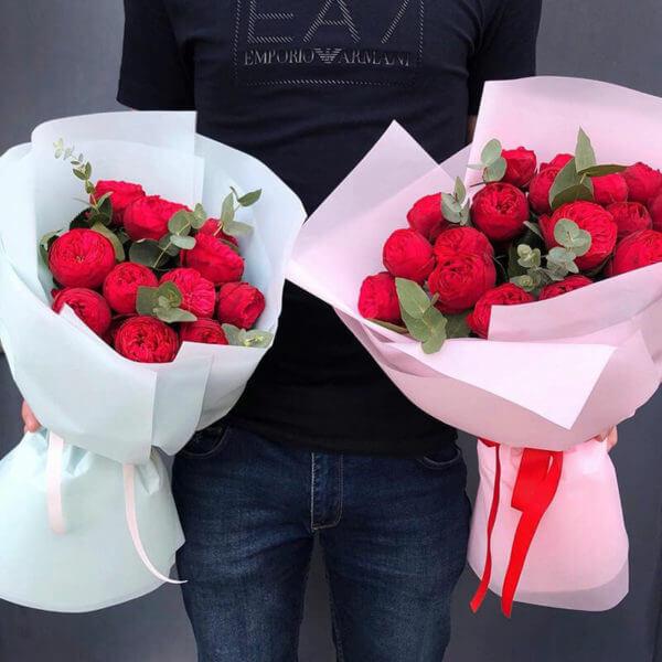 розы 35 штук