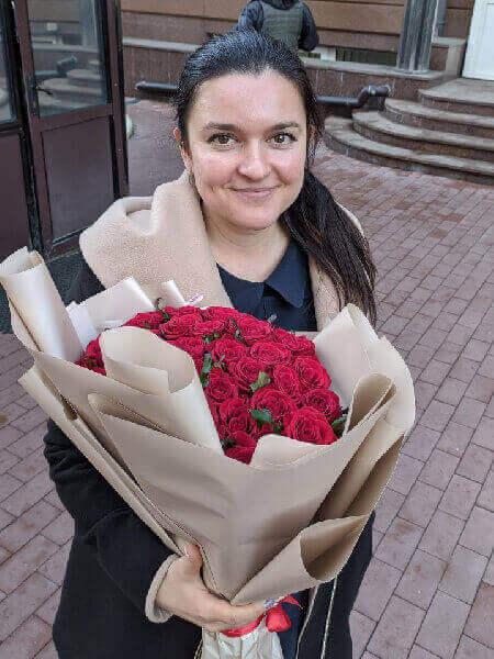 букет цветов заказать с доставкой в москве