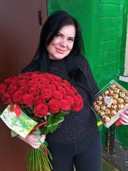 букеты цветов с доставкой в москве