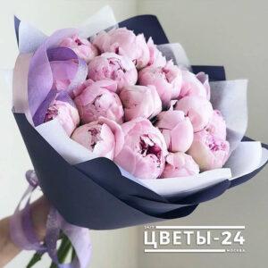 пионы купить розовые