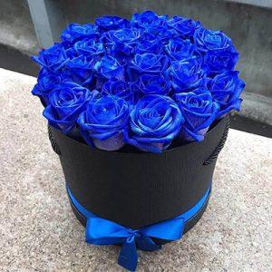 заказать цветы в коробке с доставкой