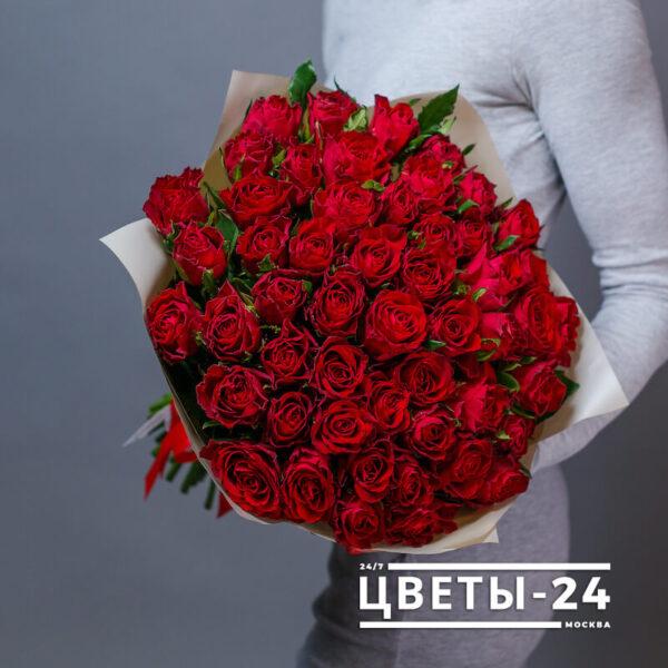 51 роза недорого
