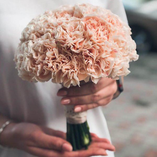 букет невесты купить в москве недорого