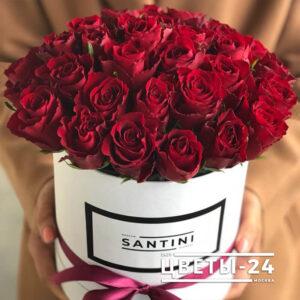 розы в коробке купить