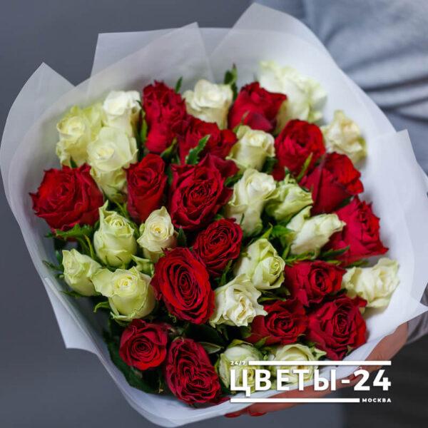 35 роз недорого