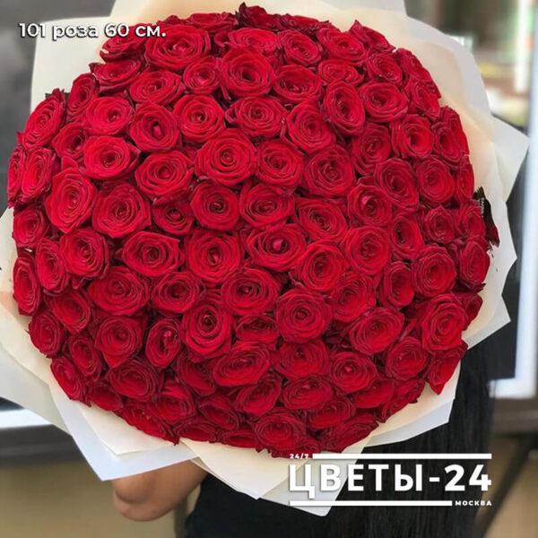 101 роза доставка