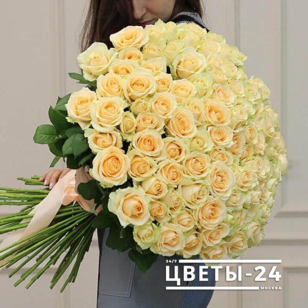101 роза 60 см купить