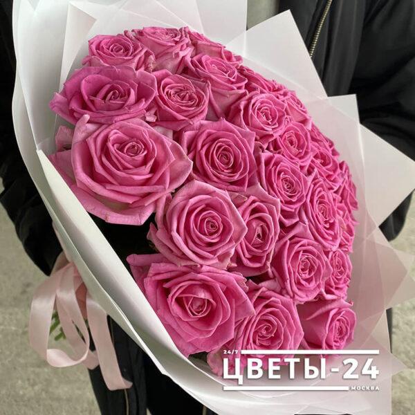 25 роз дешево