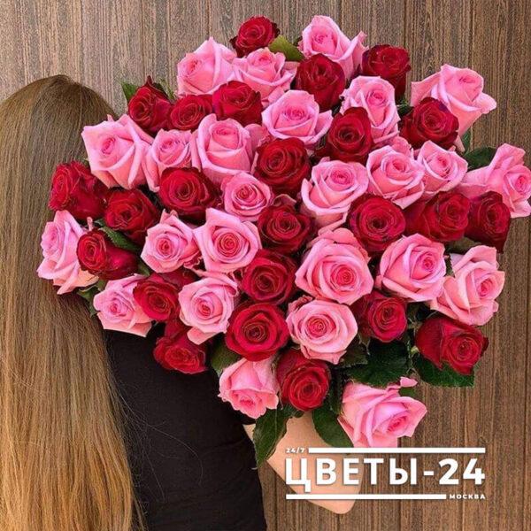 букет 51 роза москва