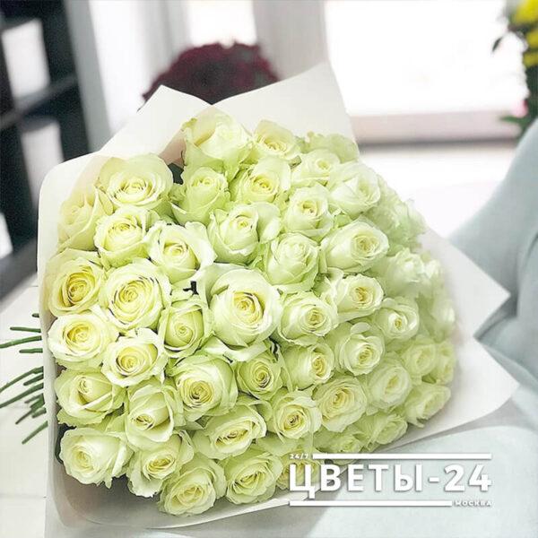 купить 51 розу в москве с доставкой