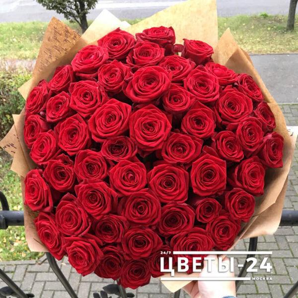 51 розы недорого