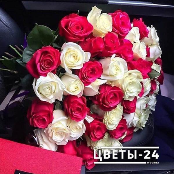 51 роза москва дешево