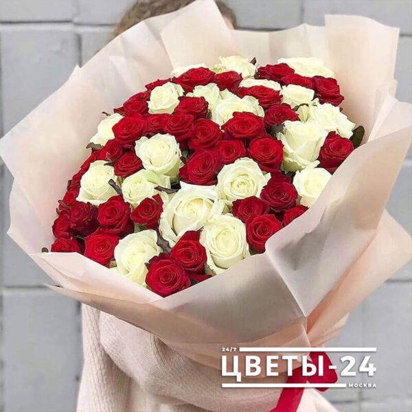 розы 51 штука