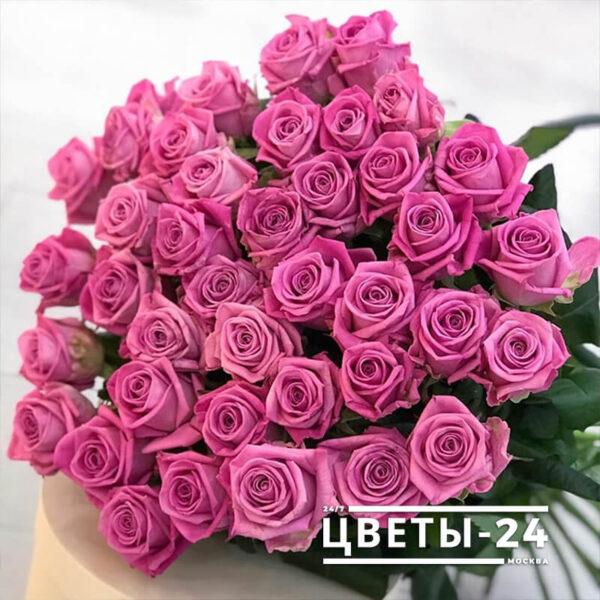 51 роза дешево