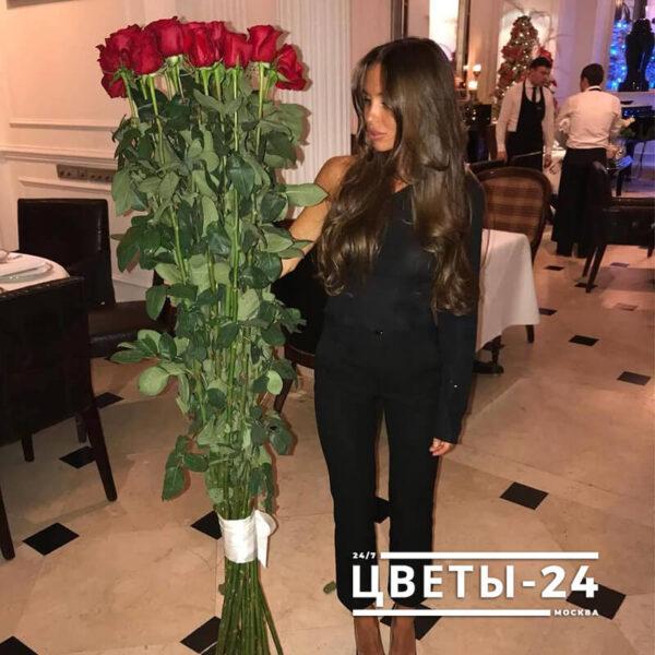 длинные розы 170