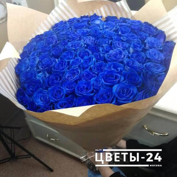купить синие розы с доставкой