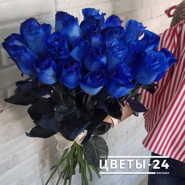 синие розы доставка