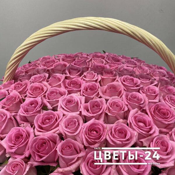 корзина роз заказать