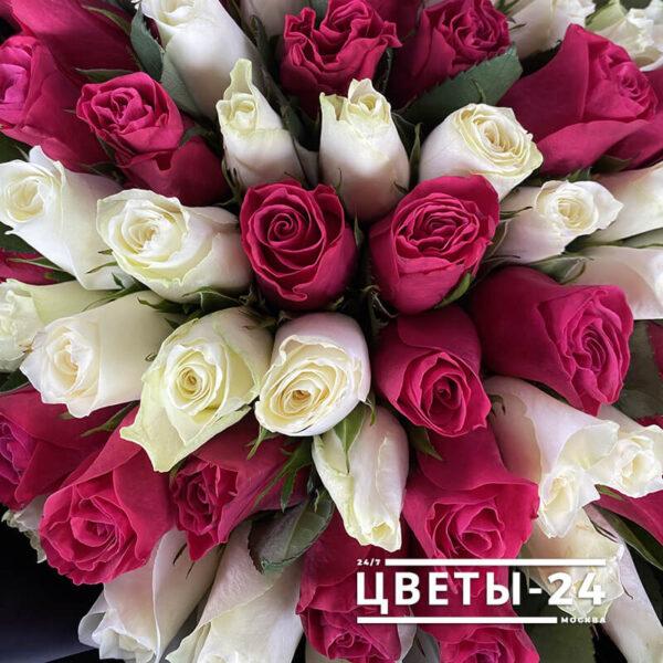 101 роза купить недорого с доставкой москва