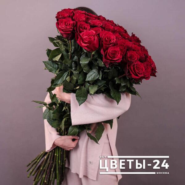 длинные розы купить