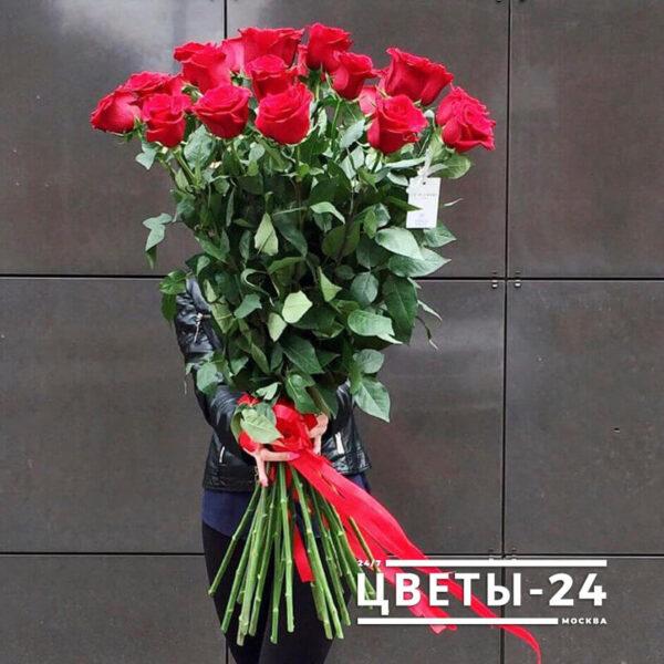 купить метровые розы дешево