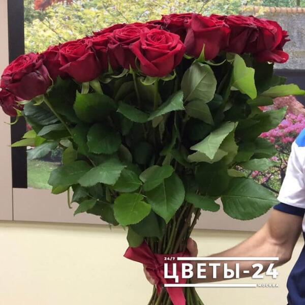 метровые розы москва