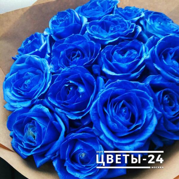 где купить синие розы