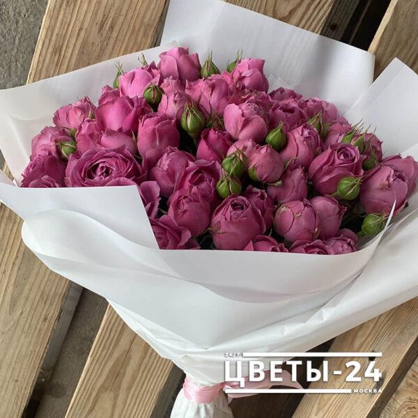 доставка цветов кустовые розы