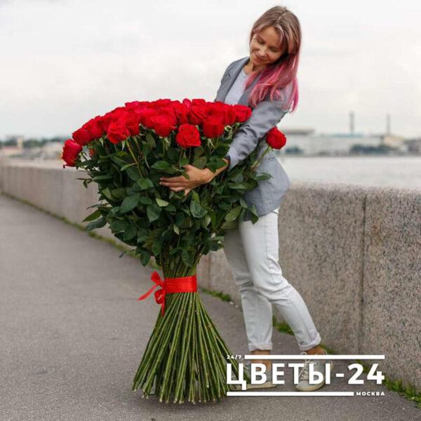 высокие розы москва