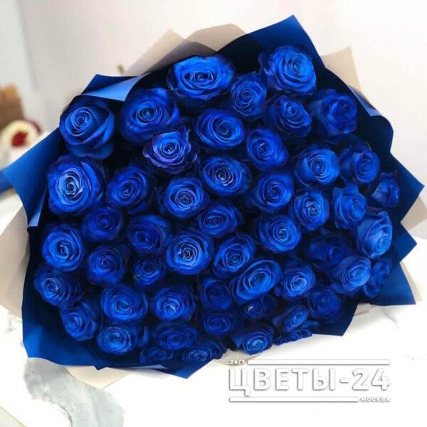 купить синие розы