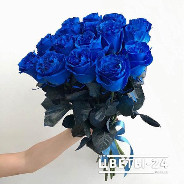 синие розы купить цена