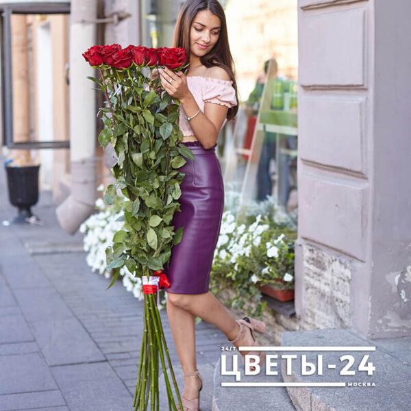 высокие розы 150 см