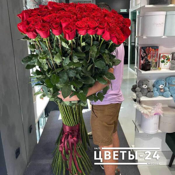 купить высокие розы